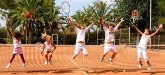 Tennistraining bei uns macht Spaß