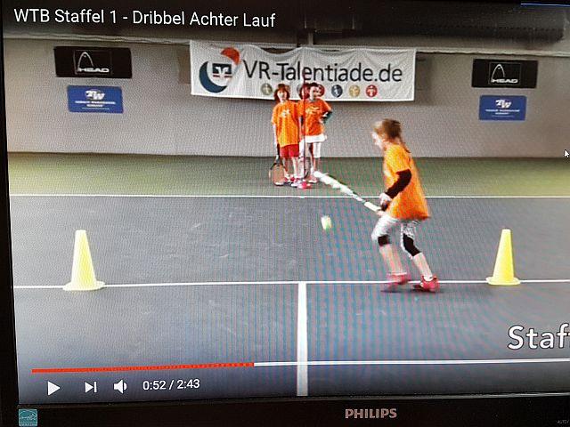 VR-Talendiade Prellen mit 8ter Lauf